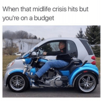 Memes, Budget, and Wild: When that midlife crisis hits but  you're on a budget @douggiehouse and I are watching wild hogs living vicariously through Clint tastegood