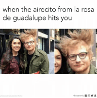 So blessed.: when the airecito from la rosa  de guadalupe hits you  @wearemiitu  photocredit taiacalandra Twitter So blessed.