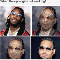 Memes, Singing, and 🤖: When the apologies not working! Better get to singing