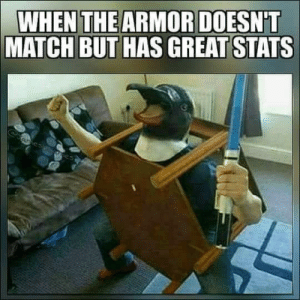 Match, Rpg, and Armor: WHEN THE ARMOR DOESNT  MATCH BUT HAS GREAT STATS Every RPG ever