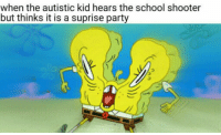 "<p>Lmao are these still a thing? via /r/dank_meme <a href=""http://ift.tt/2tslTdW"">http://ift.tt/2tslTdW</a></p>: when the autistic kid hears the school shooter  but thinks it is a suprise party <p>Lmao are these still a thing? via /r/dank_meme <a href=""http://ift.tt/2tslTdW"">http://ift.tt/2tslTdW</a></p>"