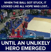 Hunter Hales, a young Boise State fan, just saved the day and became a legend.: WHEN THE BALL GOT STUCK, IT  LOOKED LIKE ALL HOPE WAS LOST.  BOISE BONUS  23 1st 4:16 30  ST  FRESNO ST  24  POSS  58  ARMY  FINAL  CBS SPORTS  PATRIOT  a AMERICAN  NETWORK  UNTIL AN UNLIKELY  HERO EMERGED Hunter Hales, a young Boise State fan, just saved the day and became a legend.