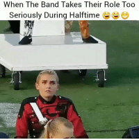 Memes, Petty, and Savage: When The Band Takes Their Role Too  Seriously During Halftime This is for the team @teamnoharmdone_ @x__antisocial_butterfly__x @resting.bitchface @vodkalana @theyamgram @mr_petty_wap @wes_wolfpack @grannie__2 @my_mom_says_im_pretty @djzl.1000.grams @kevin_the_kiddd3 @sourpsycho @daveytrane @girthypeters teamnoharmdone noharmdone savage 😂😂🙌🏻😩