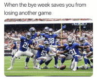 I guess you can say they won??? 🤣🤣🤣🤣 https://t.co/mCWMtIgedM: When the bye week saves you from  losing another game  @NFLHateMemes I guess you can say they won??? 🤣🤣🤣🤣 https://t.co/mCWMtIgedM