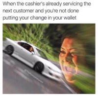 "Memes, Rush Hour, and Http: When the cashier's already servicing the  next customer and you're not done  putting your change in your wallet <p>Rush hour nightmares via /r/memes <a href=""http://ift.tt/2xKUTxb"">http://ift.tt/2xKUTxb</a></p>"