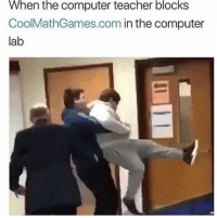 """Computers, Memes, and Teacher: When the computer teacher blocks  CoolMathGames.com in the computer  lab <p>Then what's the point of having computers via /r/memes <a href=""""https://ift.tt/2EVO76J"""">https://ift.tt/2EVO76J</a></p>"""