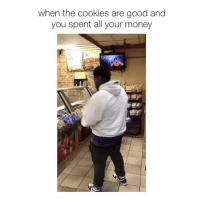 Girl, Cookie, and Cookiness: when the cookies are good and  you spent all your money follow @buysexuwhale for more 😂 - click the link in my bio & subscribe 👆🏼