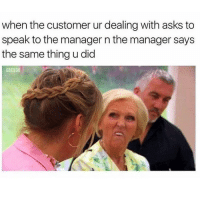 I can't breathe. Not bc of the post, but bc I'm sick. Also, I dropped my retainer under my bed again and it's been like a week already.: when the customer ur dealing with asks to  speak to the manager n the manager says  the same thing u did I can't breathe. Not bc of the post, but bc I'm sick. Also, I dropped my retainer under my bed again and it's been like a week already.