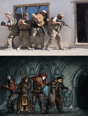 When the D&D party gets out of hand… and into Iraq by Senfgestalt MORE MEMES: When the D&D party gets out of hand… and into Iraq by Senfgestalt MORE MEMES