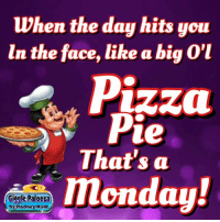 Dank, Hunting, and 🤖: when the day hits you  in the face, like a big  Pizza  ue  That's a  Giggle Palooza  by Rodney Hunt Splat good morning