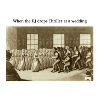 Lit moves: When the DJ drops Thriller at a wedding Lit moves