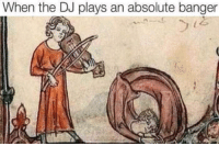 me on any any party: When the DJ plays an absolute banger me on any any party