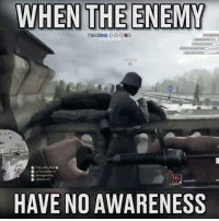 Halloween, Memes, and Afros: WHEN THE ENEMY  Ine Lost Afro  HAVE NO AWARENESS TAG A FRIEND. 😂🎮 DaGamerPage Follow other page👉🏼@ministryofgaming Partner: @organictrolling ➖➖➖➖➖ 🎮 Credit: unknown 🎮 Double Tap It. 🙏🏻 🎮 Tag A Friend. 👥 ➖➖➖➖➖ 🎮 Follow My Other Accounts 👉🏼@dagamerpage👈🏼 👉🏼@ministryofgaming👈🏼 ✖️ ➖➖➖➖➖ 🔺Hashtags. (ignore plz) videogames games gamer Callofduty blackops3 bo3 cod ps4 playstation4 gaming halloween instagamer playinggames online photooftheday onlinegaming videogameaddict instagame instagood muscles gamerguy gamergirl gamin video game igaddict tagafriend relationshipgoals blacklivesmatter