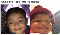 Facetime, Memes, and Twitter: When the FaceTime connects Connecting... (Credit: 5H4H4N-Twitter)