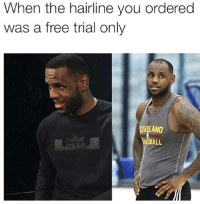 <p>He knew that he fucked up. (via /r/BlackPeopleTwitter)</p>: When the hairline you ordered  was a free trial only  ELAND  SE7BALL <p>He knew that he fucked up. (via /r/BlackPeopleTwitter)</p>