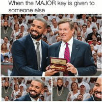 When the MAJOR key is given to  someone else Poor dj khaled