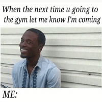 Why you lying? . @officialdoyoueven 👈: When the next time u going to  the gym let me know I'm coming  ME Why you lying? . @officialdoyoueven 👈