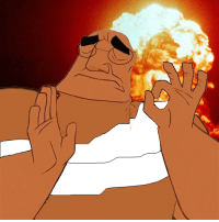 When the nuke hits their civ just right
