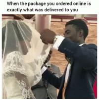 Funny, Online, and You: When the package you ordered online is  exactly what was delivered to you Lmaoo