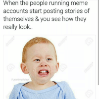 Meme, Running, and Black Twitter: When the people running meme  accounts start posting stories of  themselves & you see how they  really look  Fuckitima Robot me