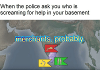 "Memes, Police, and youtube.com: When the police ask you who is  screaming for help in your basement  merchants, probably <p>These memes from the YouTube video &ldquo;the history of the world, I guess&rdquo; are blowing up. Are they worth investing in? via /r/MemeEconomy <a href=""http://ift.tt/2pWryHH"">http://ift.tt/2pWryHH</a></p>"