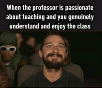 Teacher, Http, and Passionate: When the professor is passionate  about teaching and you genuinely  understand and enjoy the class Always that one teacher that you look forward to via /r/wholesomememes http://bit.ly/2HC3RCr