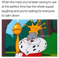When your selfie gets 11 likes 💯 Follow me for more! (@PolarSaurusRex): When the roast you've been saving to use  at the perfect time has the whole squad  laughing and you're waiting for everyone  to calm down  G:PolarSaurusRex When your selfie gets 11 likes 💯 Follow me for more! (@PolarSaurusRex)