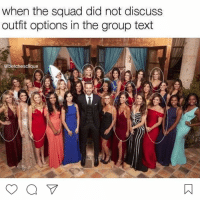 Check out our Bachelor recap from the link in the bio!! @betchesclique: when the squad did not discuss  outfit options in the group text  @betchesclique Check out our Bachelor recap from the link in the bio!! @betchesclique
