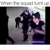 Fire moves 🔥 @mememang.tv (🎶: Broccoli by D.R.A.M ft. Lil Yachty): When the squad turnt up  IG: @Meme Mang Fire moves 🔥 @mememang.tv (🎶: Broccoli by D.R.A.M ft. Lil Yachty)