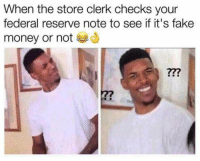 Memes, Indiana, and Libertarianism: When the store clerk checks your  federal reserve note to see if it's fake  money or not Thanks to the Libertarian Party of Indiana for this post! To get involved locally, go to lp.org/states!