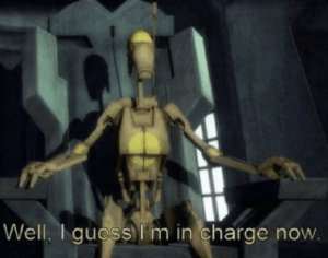 When the teacher gets disconnected from the zoom meeting and you become the host.: When the teacher gets disconnected from the zoom meeting and you become the host.