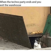 Party, Grindr, and Gay: When the techno party ends and you  exit the warehouse Me during my brief stint as a circuit gay 😂 (@ridiculous__nicholas)