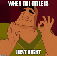 WHEN THE TITLE IS  JUST RIGHT  inngflip.com WHEN THE USERNAME IS JUST RIGHT