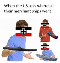 Merchant: When the US asks where all  their merchant ships went