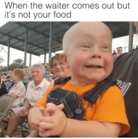Facts, Food, and Funny: When the waiter comes out but  it's not your food 😂😂😂 Facts Side note... This kinda looks like @officerdaniels_1 , just with no hair 😂💙 CopHumor CopHumorLife Humor Funny Comedy Lol Food Facts
