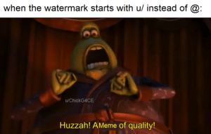Team Trees still hasn't reached it's goal: when the watermark starts with u/ instead of @:  u/ChickG4CE  Huzzah! AMeme of quality! Team Trees still hasn't reached it's goal