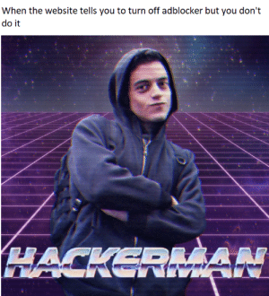 Breaking ALL the rules by ChickenPepperoniParm FOLLOW 4 MORE MEMES.: When the website tells you to turn off adblocker but you don't  do it  HACKERMAN Breaking ALL the rules by ChickenPepperoniParm FOLLOW 4 MORE MEMES.