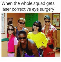 Dank, Funny, and Meme: When the whole squad gets  laser corrective eye surgery  int Is it bright in here? 😎 (@seanspeezy for awful memes) • • • powerrangers rangers redranger whiteranger zords mightymorphinpowerrangers gogo gogopowerrangers joke pun funny 90s 90skids only90skidswillremember only90skidswillunderstand throwback retro eyesurgery lasic blind sunny meme memes dankmemes dank memesdaily seanspeezy tbt throwbackthursday instagood