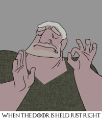 WHEN THEDDDR IS HELD JUST RIGHT [S6E5] When the door is held just right...