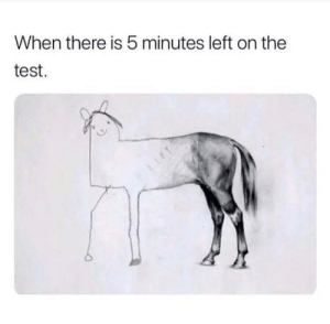 Memes, Test, and Time: When there is 5 minutes left on the  test. Time to put down your pencils everyone via /r/memes https://ift.tt/2oyYEih
