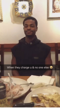 Memes, Olive Garden, and 🤖: When they charge u & no one else Olive Garden paid for everybody's meal except mine. I was salty af