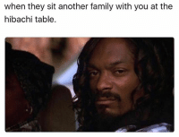 Family, Funny, and The Cable Guy: when they sit another family with you at the  hibachi table. He's tossing the shrimps in my mouth punks. (@the_cable_guy_)