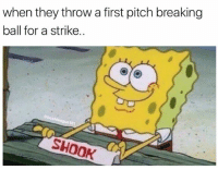 RATTLED 👀. . . . Shook Ones AheadInCount Baseball Softball Ballplayer Problems AintNoSuchThingAsHalfWayCrooks: when they throw a first pitch breaking  ball for a strike  701  SHOOK RATTLED 👀. . . . Shook Ones AheadInCount Baseball Softball Ballplayer Problems AintNoSuchThingAsHalfWayCrooks