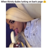 "TAG FRIENDS! - Double Tap & comment ""savage"" letter by letter for a shoutout!: When thirsty dudes lurking on bae's page TAG FRIENDS! - Double Tap & comment ""savage"" letter by letter for a shoutout!"