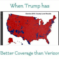 America, Guns, and Lol: When Trump has  Election 2016: County-Level Results  Better Coverage than Verizor Lol . . . Conservative America SupportOurTroops American Gun Constitution Politics TrumpTrain President Jobs Capitalism Military MikePence TeaParty Republican Mattis TrumpPence Guns AmericaFirst USA Political DonaldTrump Freedom Liberty Veteran Patriot Prolife Government PresidentTrump Partners @conservative_panda @reasonoveremotion @conservative.american @too_savage_for_democrats @conservative.nation1776 @keepamerica.usa -------------------- Contact me ●Email- RaisedRightAlwaysRight@gmail.com ●KIK- @Raised_Right_ ●Send me letters! Raised Right, 5753 Hwy 85 North, 2486 Crestview, Fl 32536