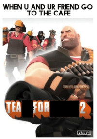 """<p>This game should get a GOTY! via /r/wholesomememes <a href=""""http://ift.tt/2zvYc8Y"""">http://ift.tt/2zvYc8Y</a></p>: WHEN U AND UR FRIEND GO  TO THE CAFE  TEAM DE LA MEME FORTRESS  2  VALVI <p>This game should get a GOTY! via /r/wholesomememes <a href=""""http://ift.tt/2zvYc8Y"""">http://ift.tt/2zvYc8Y</a></p>"""
