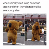 """Af, Ass, and Be Like: when u finally start liking someone  again and then they abandon u like  everybody else i am so fucking tired of seeing women bringing down each other, that shit is annoying. if a girl puts on makeup and looks bomb af, dont bring her down. also if someone posts a pic and they're arching their back a little, like no need to call them out; i could be a negative piece of shit too and be like """"bitch you should go arch your back since you got no ass"""", but i choose to be respectful of everyone."""
