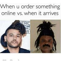 Memes, 🤖, and Order: When u order something  online vs. when it arrives  RIC