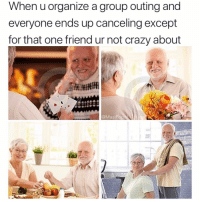 """I guess it's just u and me (or """"u and I"""" for all the cool kids): When u organize a group outing and  everyone ends up canceling except  for that one friend ur not crazy about  @MasiPopal I guess it's just u and me (or """"u and I"""" for all the cool kids)"""