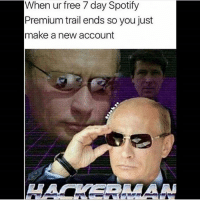 Dank, Dope, and Internet: When ur free 7 day Spotify  Premium trail ends so you just  make a new account With all this HW that still needs to be done, I'm at a 3 Luigi 🙄 - Liked the memes? Turn on my post notifications for quick laughs 🤘🏼 Dope gaming store- @gamersdelivery Backup- @memerzone - Tags (Ignore) 🚫 GamingPosts CallOfDuty Memes Cod codww2 Gaming Tumblr FunnyPosts Xbox LMAO Playstation XboxOne Internet Selfie CSGO Gamer SelenaGomez Follow Dank Meme Spongebob Like YouTube Relatable Memes DankMemes